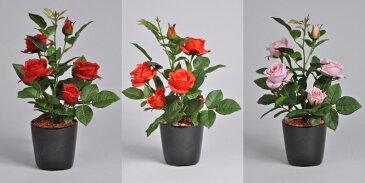 ばらSSセットD 赤・オレンジ・ピンク 光触媒アートフラワー(造花) 贈り物・母の日・新築祝・開店祝・誕生日・記念日・卒業式・入学式・ギフト・お歳暮・お年賀に