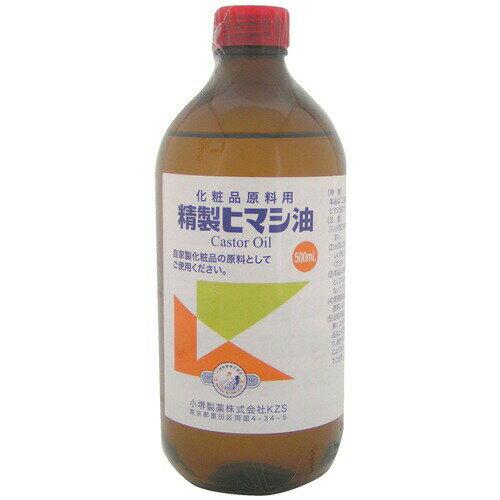 精製ヒマシ油 500ml【正規品】