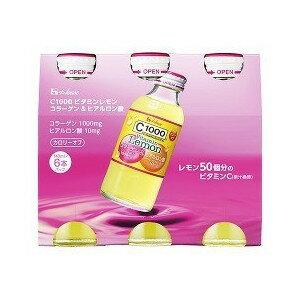 C1000 ビタミンレモン コラーゲン&ヒアルロン酸(140mL*6本入) 【正規品】