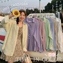 【送料無料】シアーシャツ レディース ブラウス シースルー ゆったり 夏 UVカット カーディガン