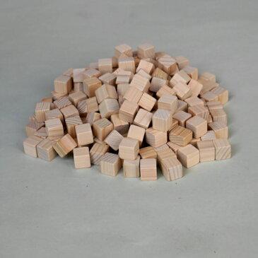 【ひのきブロック12mm角 200グラム】ブロック サイコロ エコ加湿器 キューブ アロマ 工作 使い方いろいろ ひのき