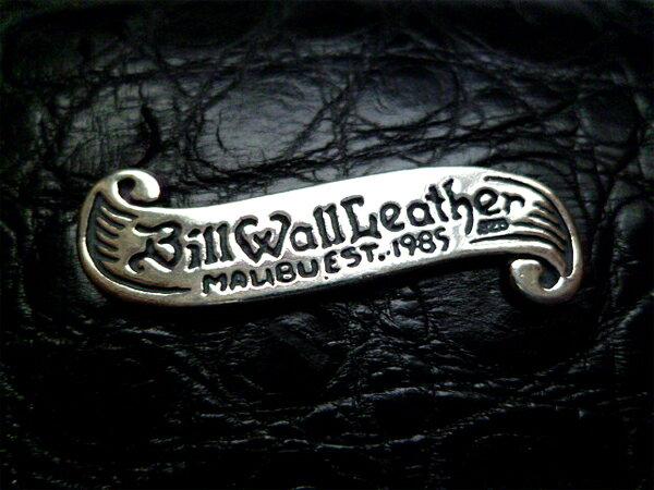 セール! BILL WALL LEATHER(ビルウォールレザー) アリゲーター ウォレット 二つ折り 財布 ZIGGY LG CURRENCY BILLFOLD ウォレット BWL