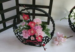 可愛いお花で女の日をお祝いしましょう春の詩和の贈り物・和花〔アートフラワー〕お祝いの花・...