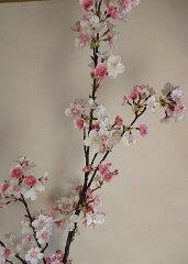 永遠に美しい・空気をきれいにしてくれるお花です満開の桜花枝桜・桜の造花・一本桜・造花・ア...