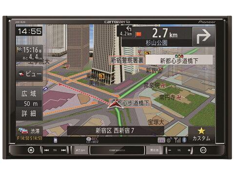 【送料無料】Pioneer 楽NAVI AVIC-RZ09