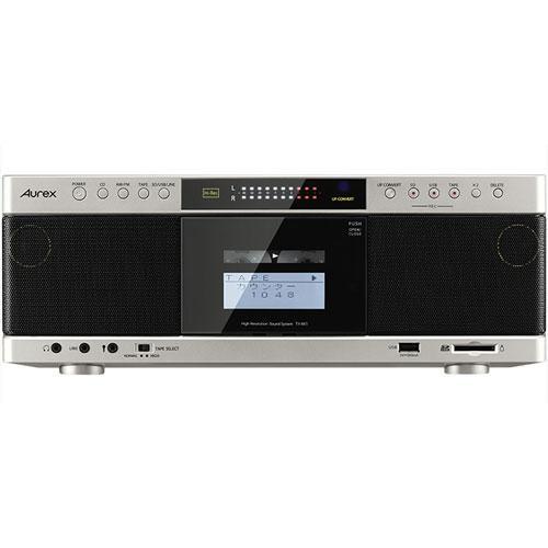【送料無料】東芝 ハイレゾ対応SD/USB/CDラジカセ TOSHIBA Aurex TY-AK1(サテンゴールド)