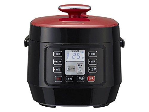 【送料無料】KOIZUMI マイコン電気圧力鍋 レッド KSC-3501/R