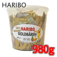 HARIBOハリボーグミミニゴールドベアグミキャンディドラム980g100袋GoldBaren