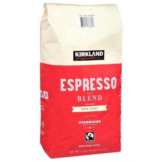コーヒー, コーヒー豆 STARBUCKS 1.13kg 1130g Roast coffee KIRKLAND