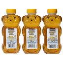 【送料無料】カークランド 750g×3本『ハチミツベアージャグ 3本』ハチミツ はちみつ 100% ピュア 天然 くまさん 容器 調味料 ハニー ベア