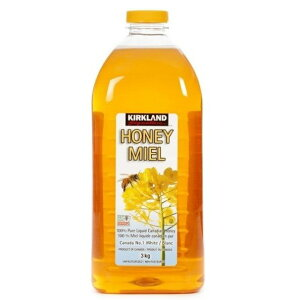 カークランド 3kg『ハチミツ 3kg』はちみつ 100% 蜂蜜 ピュア 天然  調味料 コストコ ハニーミール 大容量 業務用
