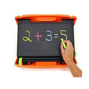 お絵かきボード 黒板 『ホワイトボード』ポータブル 画板 3WAYボード ミカドール Micador Easy Carry Art Studio お絵かきボード 持ち運び キャリーケース イーゼル マーカー チョーク アート