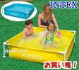 INTEX インテックス ビニールプール 家庭用『プール』ミニ フレーム 子供用プール ファミリープール 122cm×122cm ×30cm レジャー用品 プール 家庭用 空気入れ不要 簡単設置 ミニフレームプール 簡単設営 こども用 野外 屋外 フレームプール