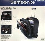 samsonite サムソナイト ビジネスバッグ『キャリーバッグ』収納 VATON ローリングトート キャスター付き カバン ビジネスキャリーバッグ 機内持ち込み可 2輪キャリーケース パソコンバッグ ブリーフケース 出張鞄 スーツケース トローリー モバイル