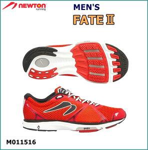 【送料無料!】 NEWTON(ニュートン)メンズ ランニングシューズ Fate II (フェイト2) レッド (Red) [M011516] ※返品・交換不可商品となります。