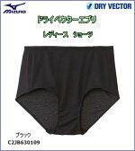 ミズノ MIZUNO ドライベクターエブリ ショーツ 女性用 ブラック [C2JB630109]