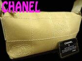 【中古】正規品◆シャネルCHANEL ココマークチョコバー キャンバスハンドバッグ