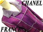 【中古】正規品◆シャネルCHANEL高級ムートンジャケット羊革