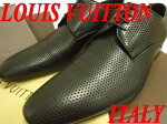 【未使用品】イタリア製◆ルイヴィトンLOUISVUITTONレザーシューズ革靴