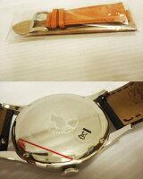 【未使用】●ハンティングワールドクロノグラフ腕時計替ベルト付