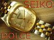 【中古】動作確認◇セイコー ドルチェDOLCE◇メンズクオーツ 腕時計