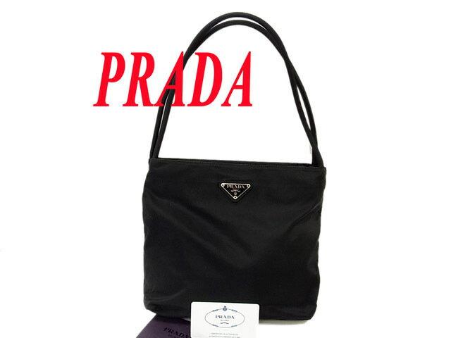 buy popular d31a3 78fa5 ○美品 プラダ PRADA ユーズド ショルダーバッグ トートバッグ ...