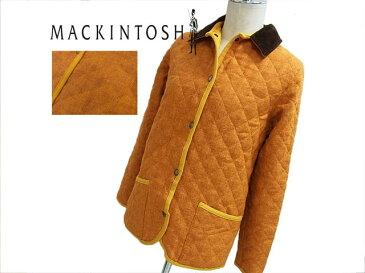 【中古】◇美品 秋冬◇マッキントッシュ◇ツイードキルティングコート 中綿入り 軽量 MACKINTOS レディース 美ライン