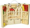 収納できる 木製ツールボックス トントン 大工さんセット 【知育玩具】木のおもちゃ  男の子  誕生日プレゼントに!