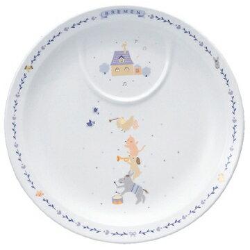 【ナルミ】  ブレーメン 22cmプレート 陶器通販 ブランド通販 人気通販 ブランド通販   子供食器 【創業明治元年の安心感】