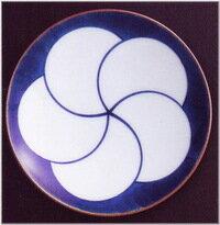 【白山陶器】 《 ねじり梅・ 3寸和皿》【製造中止・廃盤】残り2枚です。お早めにお買いお求め下さいませ。