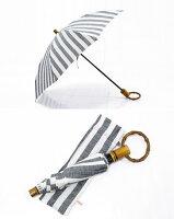 surmerシュルメールリネンリゾート太ストライプ折り畳み傘SO-002
