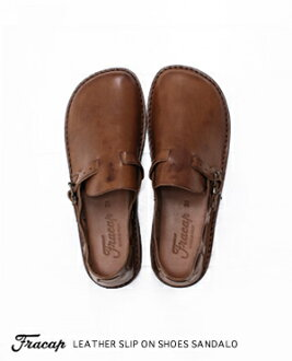 Fracap FL Cup leather slip-on shoes R005 Sandalo by 2015