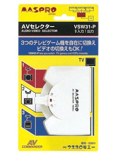 テレビ用アクセサリー, AVセレクター  AV VSW31-P