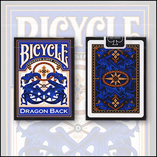 Bicycle Blue Dragon Back Playing Cards画像