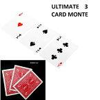 自転車レッドバック 3 3 カードモンテマジックトリック Bicycle Red Back 3 Three Card Monte Magic Trick