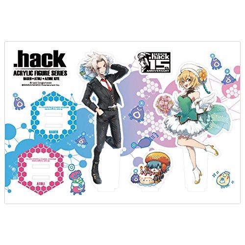 『.hack』シリーズ15周年記念 アクリルフィギュアシリーズ 全3種 ハセヲ&アトリ ver.画像