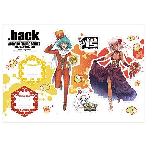 『.hack』シリーズ15周年記念 アクリルフィギュアシリーズ 全3種 カイト&ブラックローズ ver.画像