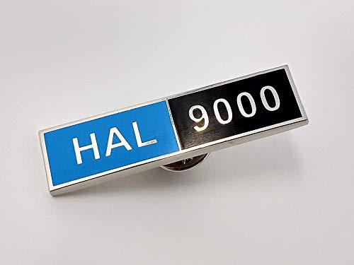 2001年宇宙の旅 HAL9000 ロゴピンバッジ画像