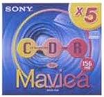ソニー SONY 8cm CD-R(CD Mavica用) 5MCR-156A