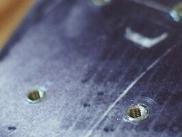 お持込み板のスキーインサートビス加工1穴