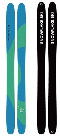 【2013モデル】【SNOWFLAKESKIスノーフレークスキー12/13】ウルトラファットスキーTMP180cm【送料無料】