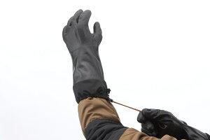 ショーワグローブTEMURES282-01防寒テムレス黒ブラック裾もオールブラック【M/L/LL】【1個のみメール便対応】