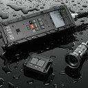 最強のヘルメットカメラ【レコーダー部も完全防水】4GB SDカード付属 VIO VIO POV.HD ビデオカ...