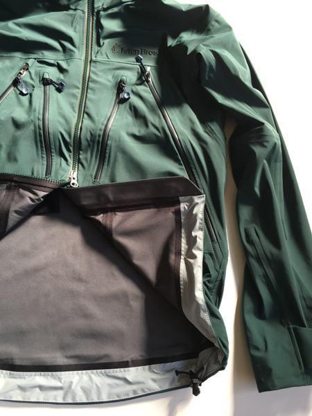 Teton Bros. ティートンブロス CLIMATIC JACKET(DEEP GREEN)クライマチックジャケット