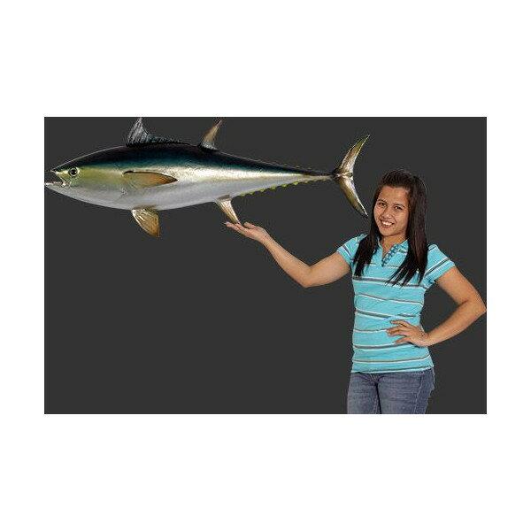 代引不可-全長114cm!ブルーフィン まぐろ マグロ 鮪 tuna figure blue fine fish 巨大フィギュア・壁掛けタイプ(等身大フィギュア)  店舗/店頭/看板/オブジェ/ディスプレイ/シンボル/置物/アート 【RCP】:ダーマカラーのブルーヘブン
