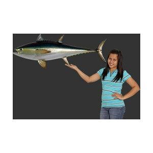 全長114cm!ブルーーフィンまぐろ マグロ鮪 tuna figure巨大フィギュア・壁掛けタイプ)tuna fi...