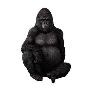 動物BIG,高さ115cmの巨大「ゴリラ」!アニマルビッグフィギュアシリーズ【悠然たるゴリラ】(等...