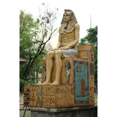 「古代エジプト王」のビッグシンボル!インパクト抜群! お店の店頭に置けばインパクト抜群!シ...