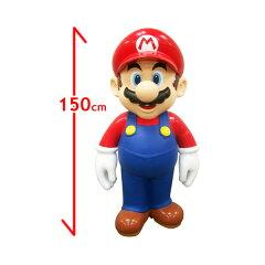 Nintendoの人気者「マリオ」の等身大フィギュア!!代引不可-マリオビッグ・等身大フィギュア S...