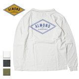 AlmondSurf,アーモンドサーフボードデザイン,ロングTシャツ,メンズ,レディース
